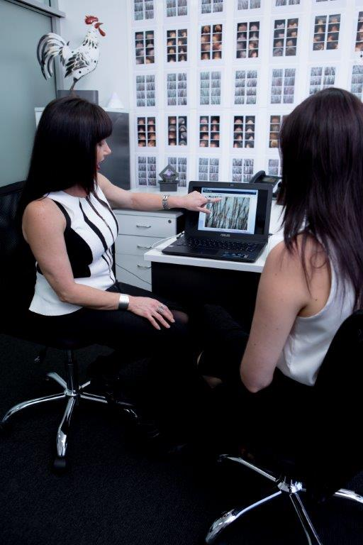 Microscopic Results with Absolique Hair Health Clinic