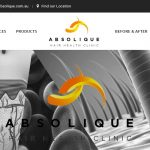 New Website Launch, Hair Loss Treatments by Absolique Brisbane